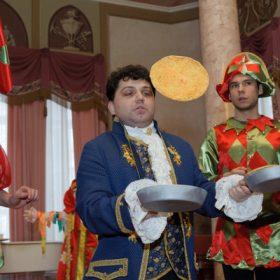 Масленица во дворце Н.А. Дурасова в усадьбе Люблино
